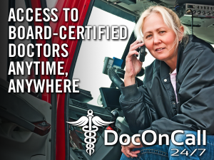 DocOnCall24/7 for Truckers