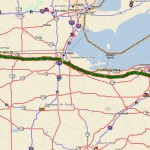 Fort Wayne, IN to North Lima, OH via pickup in Akron, IN